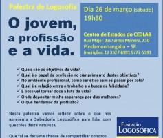 Palestra de Logosofia em Pinda!
