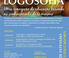 Fundação Logosófica promove curso para pais e educadores.